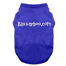 BaxterBoo Dog T-Shirt - Blue