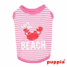 Beach Party Dog Shirt by Puppia - Pink