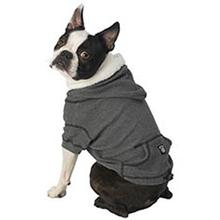 Bentley's Fur Trimmed Hoodie - Gray