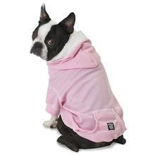 Bentley's Fur Trimmed Hoodie - Pink