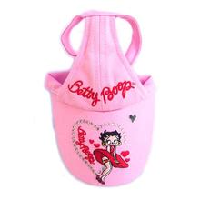 Betty Boop Flying Dress Dog Hat - Pink