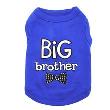 Big Brother Dog Tank by Parisian Pet - Blue