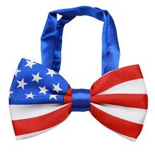 Big Dog Bow Tie - American Flag
