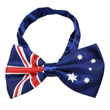 Big Dog Bow Tie - Australian Flag