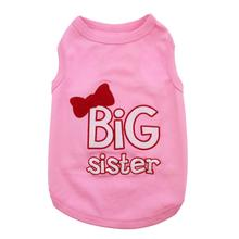 Big Sister Dog Tank by Parisian Pet - Pink