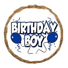Birthday Boy Dog Treat Cookie