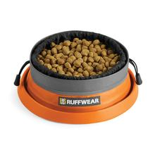 Bivy Cinch Dog Bowl By RuffWear - Campfire Orange