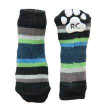 Blue Stripes PAWks Dog Socks