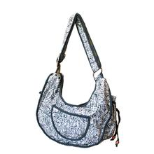 Boho Puppy Pet Sling - Gray