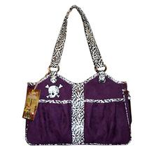 Bon Ami Punky Skully Dog Carrier - Purple