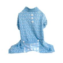 Bones Dog Pajamas - Blue