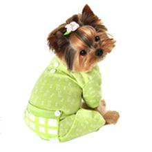 Bones Dog Pajamas - Green