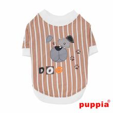 Boomer Dog Shirt by Puppia - Beige