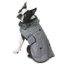 Boston Dog Parka - Gray