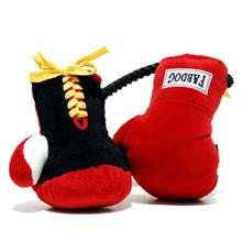 Boxing Glove Dog Toy