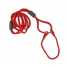 Braided Martingale Show Lead - Red