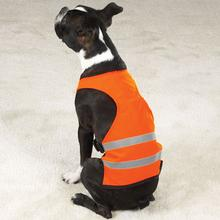 Bright and Reflective Safety Vest - Orange