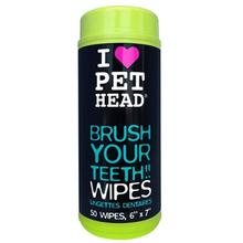 Brush Your Teeth Pet Wipes by Pet Head
