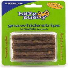Busy Buddy Funny Bone Gnawhide All-Natural Strips Refill