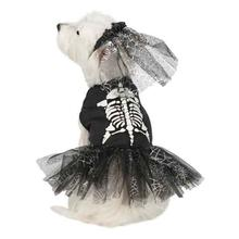 Casual Canine Glow-in-the-Dark Skeleton Zombie Dog Costume