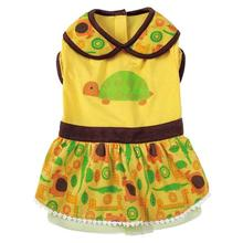Jungle Bunch Dog Dress - Turtle