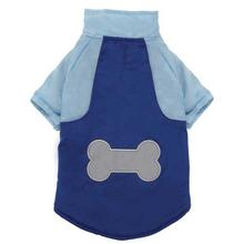 Casual Canine Nylon Snow Dog Parka - Nautical Blue