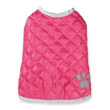 Quilted Nor'Easter Dog Coat - Pink