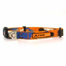 X-treme Game Over Dog Collar - Orange