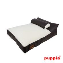 Chaise Dog Bed by Puppia - Brown