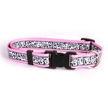Chantilly Dog Collar by Yellow Dog - Pink