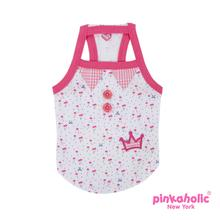 Cherry Berry Dog Tank by Pinkaholic - Pink