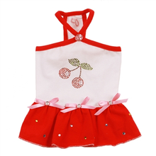 Cherry Dog Sundress by Pooch Outfitters