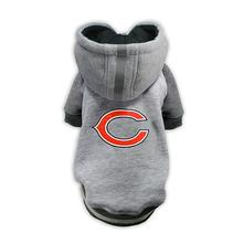Chicago Bears NFL Dog Hoodie - Gray