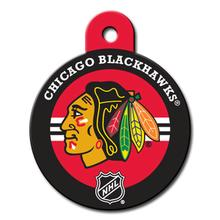 Chicago Blackhawks Engravable Pet I.D. Tag