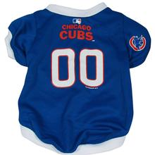 Chicago Cubs Baseball Dog Jersey - Blue