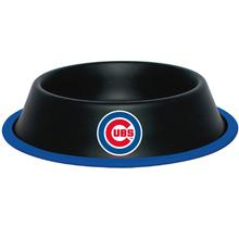 Chicago Cubs Dog Bowl - Black