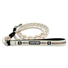 Chicago White Sox Frozen Rope Leather Dog Leash
