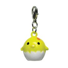 Chicklet Jingle Bell Dog Collar Charm by Klippo - Yellow