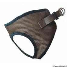 Choke-Free Mesh Step-In Dog Harness - Fossil Brown
