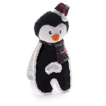 Christmas Cuddle Tug Dog Toy - Penguin