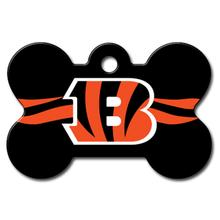 Cincinnati Bengals Engravable Pet I.D. Tag - Bone
