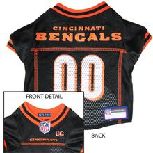Cincinnati Bengals Officially Licensed Dog Jersey