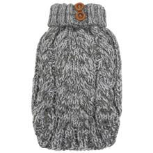 Cityscape Dog Sweater - Heather Gray