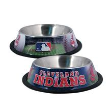 Cleveland Indians Dog Bowl