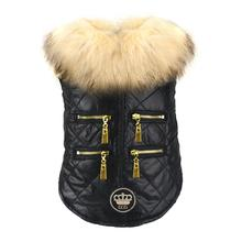 Coco Quilted Dog Jacket from Dogs of Glamour - Black