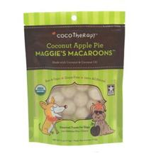 CocoTherapy Maggie's Macaroons Pet Treat - Coconut Apple Pie