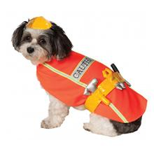 Construction Worker Halloween Dog Costume