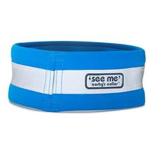 Corky's Reflective Wear Dog Overcollar - Healer Blue