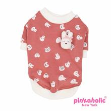 Cottontail Dog Shirt by Pinkaholic - Orange