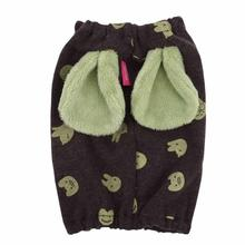 Cottontail Dog Snood by Pinkaholic - Brown